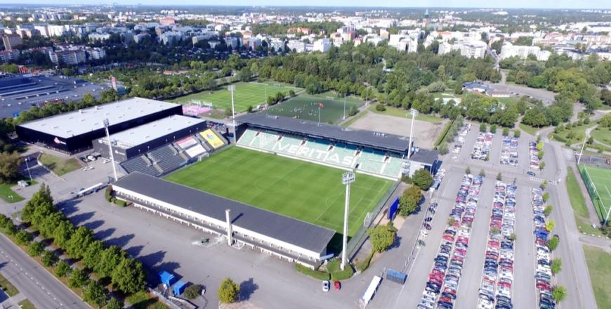 """ilmakuva Veritas Stadion."""